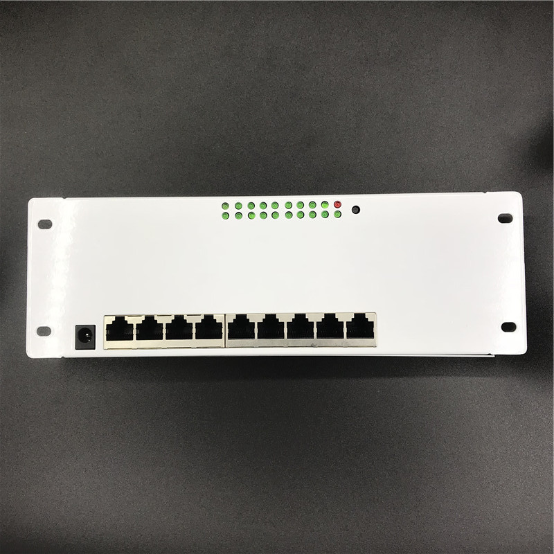 ANDDEAR 9 port POE router module manufacturer t sell  full Gigabit 10/100/1000M POE 48V2A router modules OEM wired router module 4