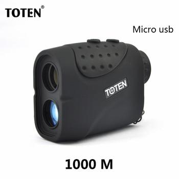 TOTEN 6x21C2 1000 Meter Laser Rangefinder USB Rechargeable lithium Battery Hunting Golf Laser Range Finder 1