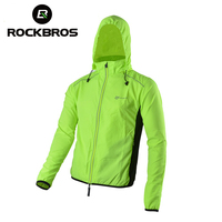 ROCKBROS Reflective Breathable Bike Bicycle Cycling Cycle Long Sleeve Wind Coat Windcoat Windproof Quick Dry Jersey