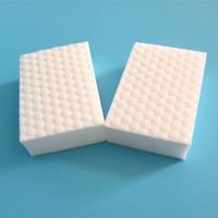 100pcs/10*6*2 cm High density double compressed kitchen cleaning melamine sponge magic eraser for dish washing tech