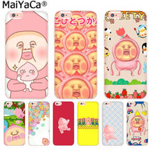 MaiYaCa Japan Cute cartoon Kobito Peach Prince Luxury fashion cell phone case for iphone 11 pro 8 7 66S Plus X 55S SE XS MAX XR(China)