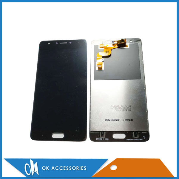 Black Color For Infinix Note 4 Pro X571 LCD Screen Display With Touch Screen Digitizer Assembly Replacement 1pc/Lot