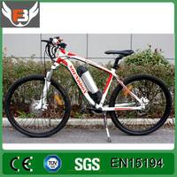 26 Inch Mountain Bike Aluminum Alloy Frame 350W 500W Lithium Battery Electric Bicycle Battery Change Speed