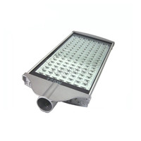 2X high quality LED street light 126W IP65 with Bridgelux chip high efficience round lamp express free shipping