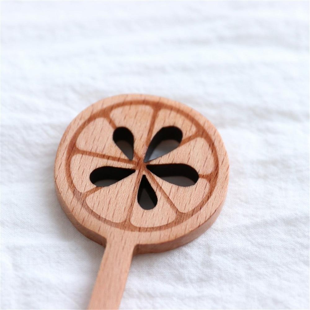 Natuurlijke Lange Handvat Roeren Houten Lepels voor Drinken Dessert Honing Koffie Draagbare Servies vork voor keuken bar