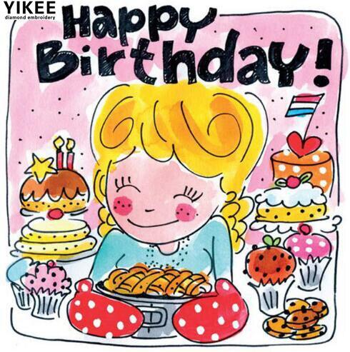 Afbeelding Verjaardag Blond.Verjaardag Blond Verjaardag