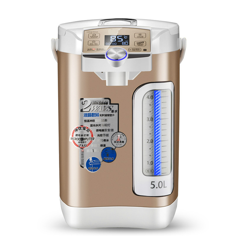 Electric thermos water bottle insulated home full automatic power - off intelligent kettle 5L 1 5l electric kettle automatic power off glass kettle wasserkocher high quality water heater kettle