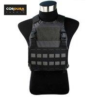 Chiến thuật Ferro Slickster FCSK Tấm Carrier Wolf Xám Cấu Hình Thấp Ánh Sáng Combat Bánh Vest (STG051096)