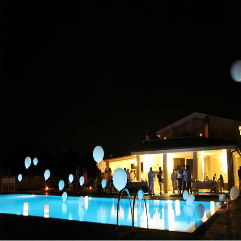 10 pezzi/lottp di Alta Qualità Del Partito di Ballo Decorazione Impermeabile A Batteria Micro Mini Led Lightd Per balloon occasioni