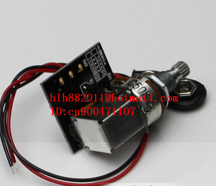 free shipping new electric guitar and bass tone and volume electronic potentiometer capacitance VCT  DR-8233 free shipping new electric guitar and bass 2 a250k 2 b250k big tone and volume electronic dr 8159