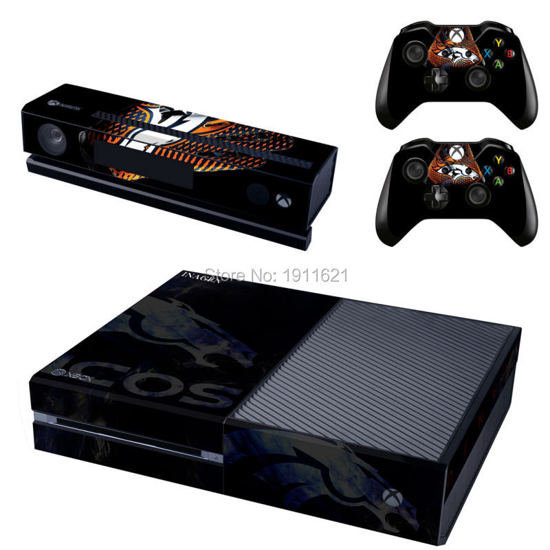 For Microsoft XBOX ONE Console Game Sticker Cover Vinyl Decals and Controllers Skins