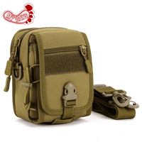 Out door Tactical Pouch multifunction mobile phone carda mini bag men woman Molle EDC Military Hunting single shoulder packs