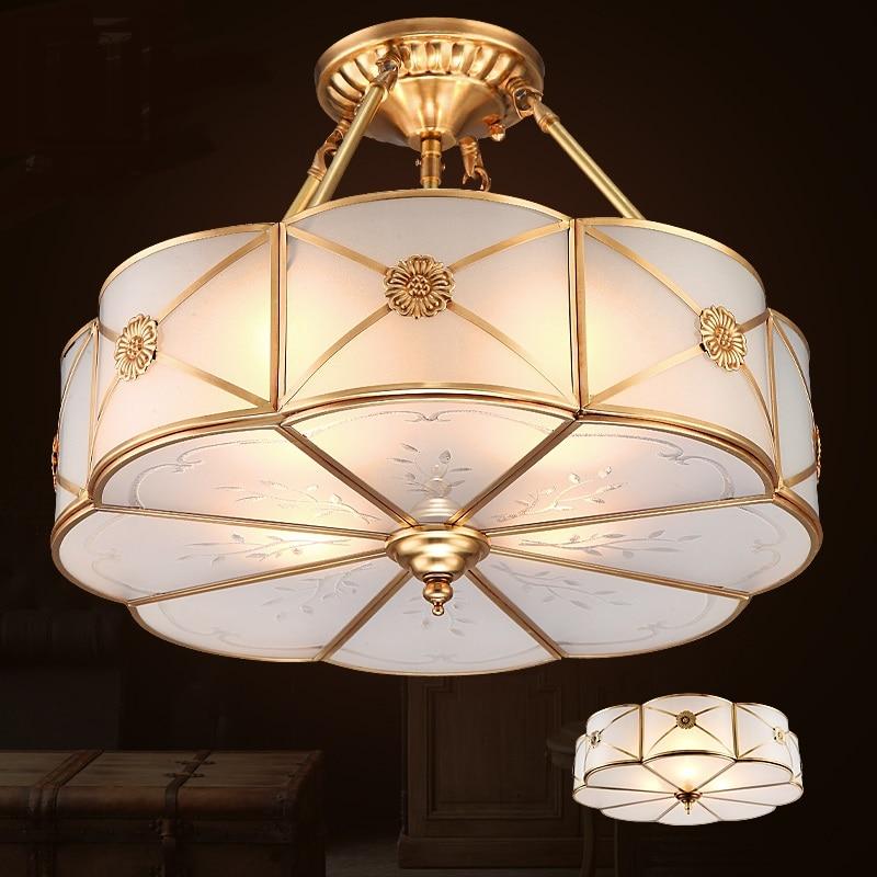 koperen plafondlamp-koop goedkope koperen plafondlamp loten van, Deco ideeën