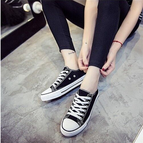 Korean Students Skateboarding Canvas Shoes Travel Shoes Basic Low Canvas Flat Shoes For Men Shoes Vulcanized Rubber Boot Mlae