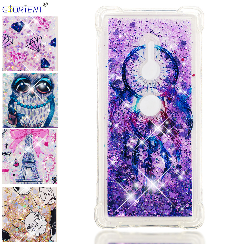 Cellphones & Telecommunications Phone Bags & Cases Strong-Willed Funda For Sony Xperia Xz2 Dynamic Liquid Quicksand Shockproof Case Xperiaxz2 H8296 H8216 H8266 H8276 Soft Silicone Bumper Cover Rich And Magnificent