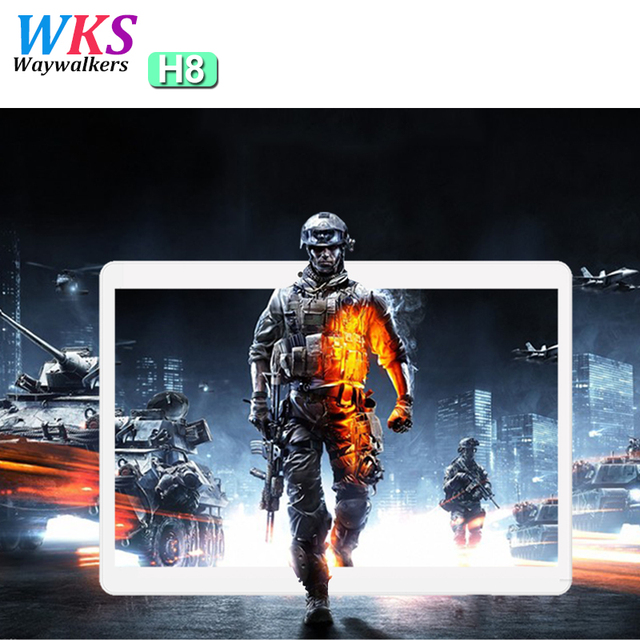 2017 Newest 10 inch tablet PC Android 7.0 Phone call 10 core RAM 4GB ROM 64GB 1920x1200 IPS GPS Bluetooth tablets Free shipping
