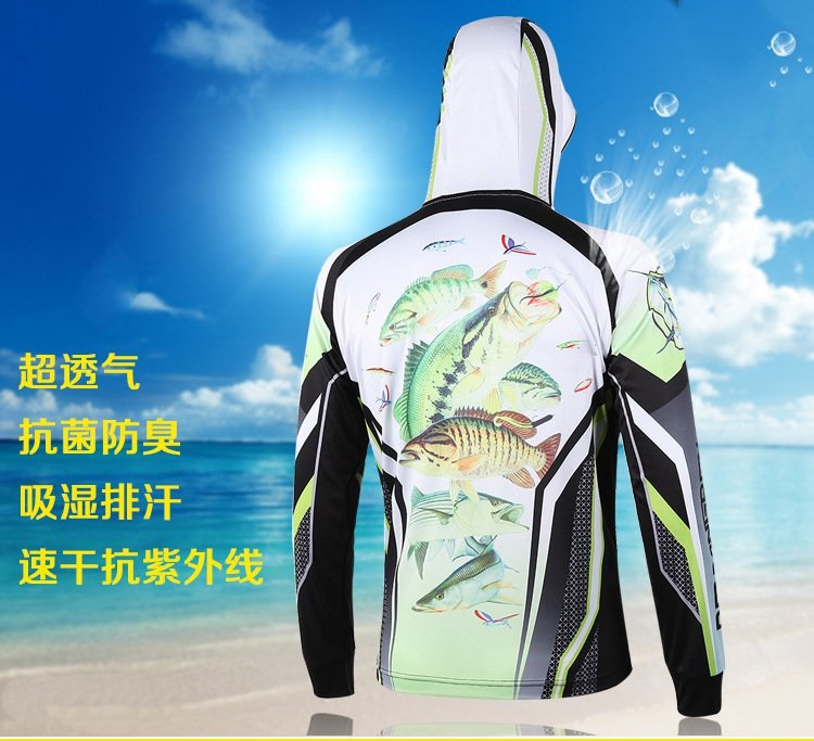 Summer Sunscreen UV outdoor sports clothing new men's clothing