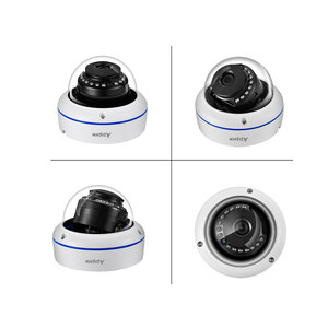 Image 5 - AZISHN 4MP H.265 8CH POE NVR домашняя система безопасности 4MP 3MP аудио запись металлическая наружная камера видеонаблюдения IP купольная камера комплект ONVIF