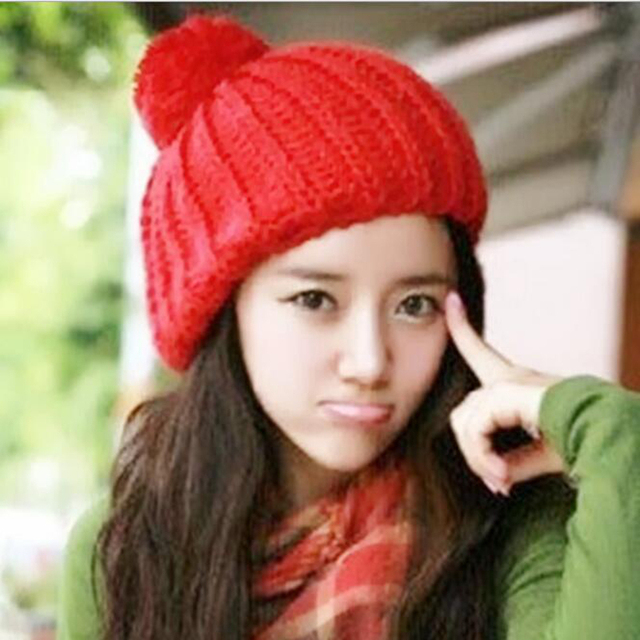 New Trendy Cheap Price Winter Beanies Solid Color Hat Women Plain Warm Soft  Beanie Skull Knit bf0ff80fd6f