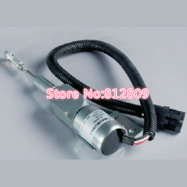 Fuel Shut Off Engine Stop Flameout off Solenoid 3935430 SA4755-24 24V ,Free shipping купить