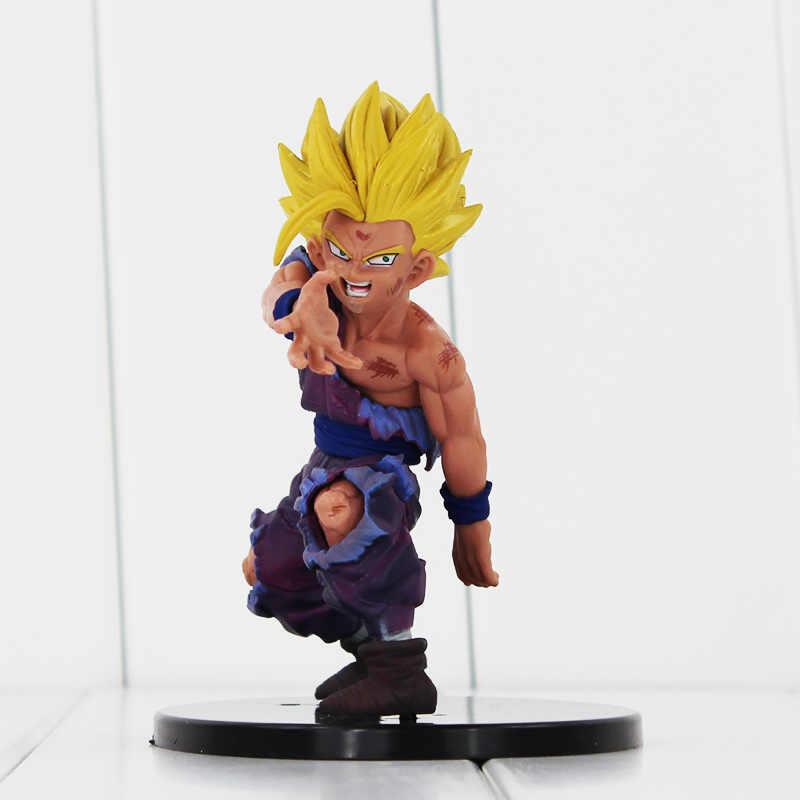 11 centímetros Anime Dragon Ball Z Super Saiyan Son Gohan PVC Action Figure Toy Modelo para Collectible Frete grátis
