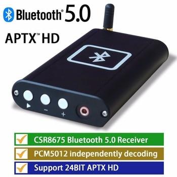 Portable Bluetooth 5.0 Audio Player HiFi Headphone Amp PCM5102 DAC Decoder