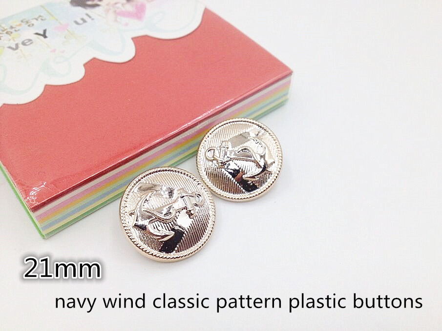 50PCS/bag High quality clothing materials suitable for the Navy wind shirt, sweater coats, etc.A70