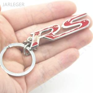 Moda 3D Auto Metal trend mężczyźni i kobiety torba wisząca brelok do kluczyków samochodowych klucz klucz z obręczą łańcuch dla BMW Audi BMW Lexus Ford RS logo