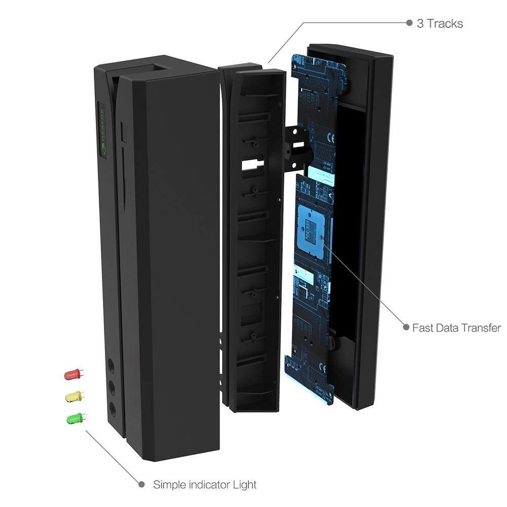 ITOSAYDE OSAYDE MSR606 3 tracks Hi-co&Low-co Magnetic Stripe Card Reader/Writer Encoder цена и фото