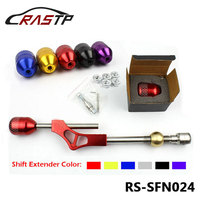 RasTuningParts Store gear shift lever extender For Honda Civic Integra CRX B16 B18 B20 D Series With Shift Knob RS SFN024