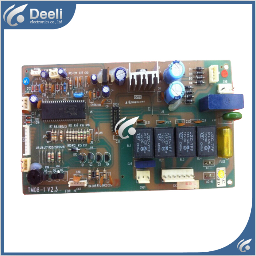 95% new Original for air conditioning computer board 2P KF-51LW/A TM08-1V2.3 board original for tcl air conditioning computer board used board