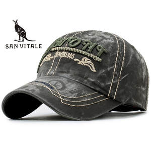SAN VITALE Baseball Cap Men Dad Hat Polo Black Snapback 5afbb03994c4