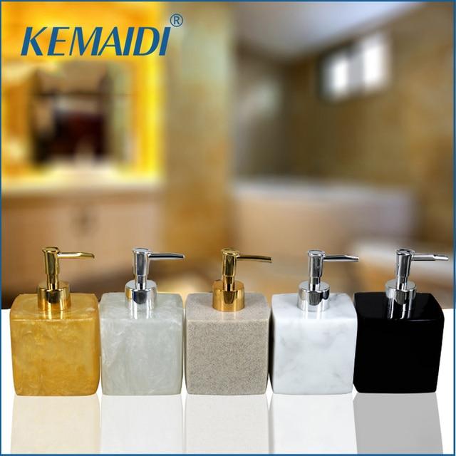 Ordinaire KEMAIDI New Luxury 5 Farbe Tragbare Haushalt Seifenspender Praktische  Flüssigseife Dusche Container Badezimmer Zubehör