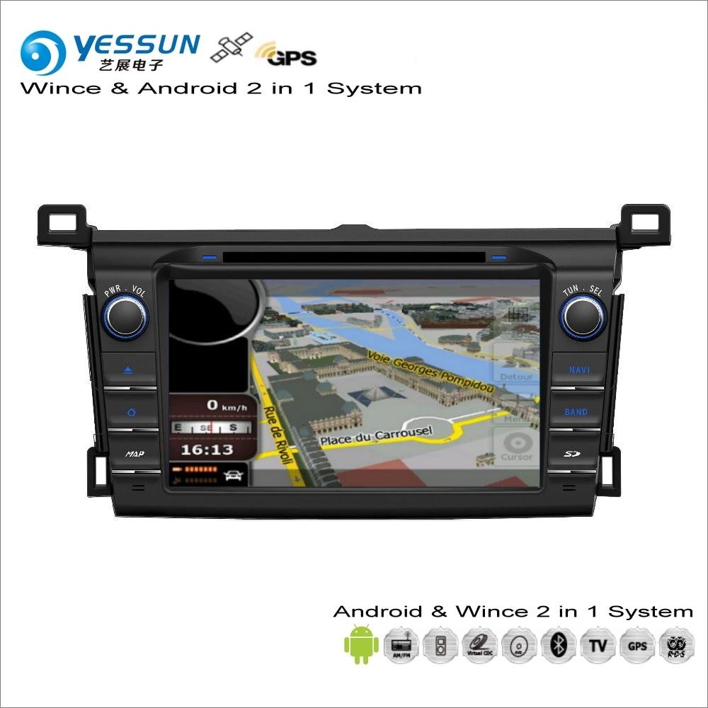 YESSUN For Toyota RAV4 / Vanguard 2013~2014 Car Android Multimedia ...