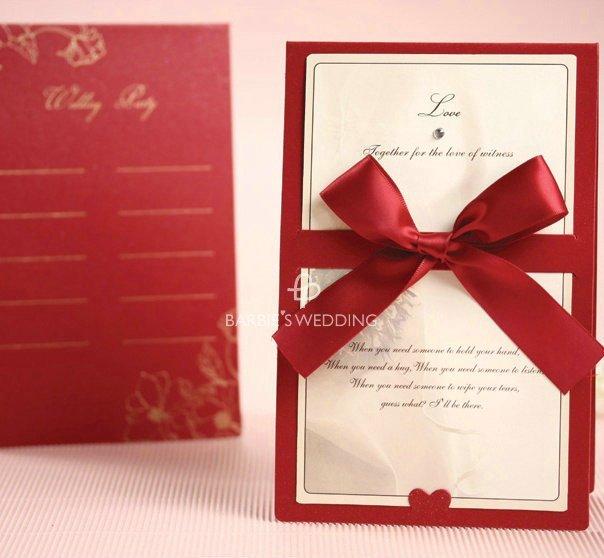 invitation de mariage oriental free style frais de port personnalis carte avec ruban de satin card - Carte D Invitation Mariage Oriental