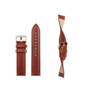 Image 2 - Ремешок Ktab для смарт часов, сменный Браслет из натуральной кожи для Nokia со стальными часами, 36 мм/40 мм