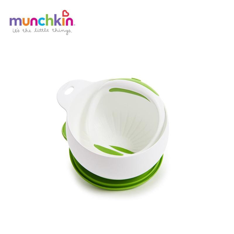 Munchkin go Mash vida fácil trituradora prensa fruta suplemento alimenticio herramienta