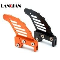 Motorcycle CNC Aluminum Orange Autobike Rear Brake Disc Guard Potector For KTM 450 SX 2003 2006 KTM 450 EXC 2003 2007 2005 2006