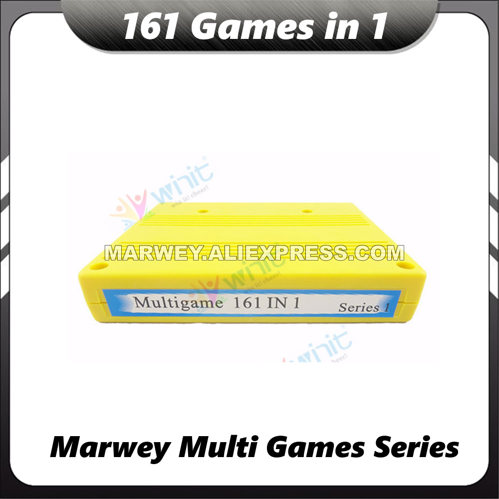 Marwey 161 dans 1 Jamma PCB Plateau De Jeu D'arcade Machine Cartouche SNK Carte Mère MVS NEO GEO Multi Boîte De Carte De Jeu cassette BRICOLAGE Pièces
