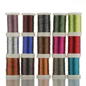130M metallic material rod guide ring tying thread rod DIY building guide refit repair modify guide fasten line(China)