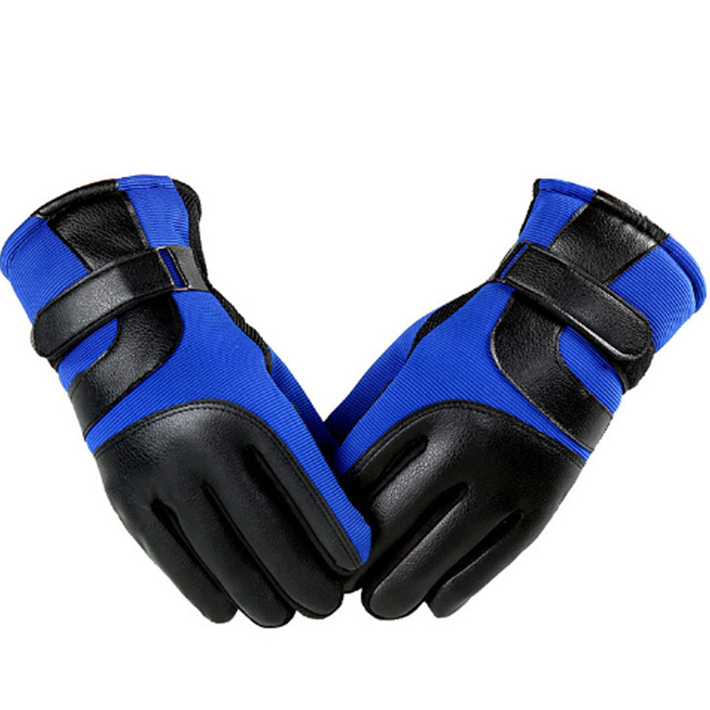 Men SKiing Gloves Motorcycle Gloves Touch Screen Winter Warm Antiskid Waterproof Windproof Protective Gloves