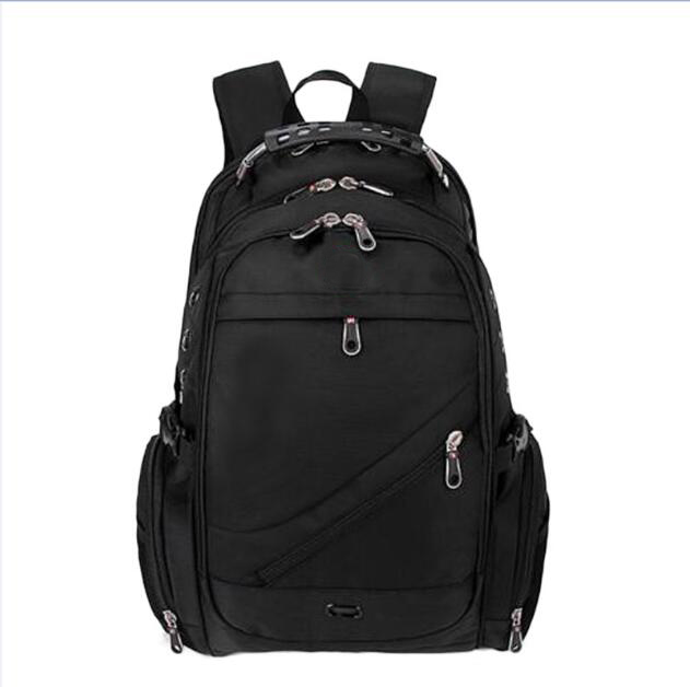 все цены на Waterproof Nylon 15 inch Laptop Bag Sac A Dos Men Backpacks Travel Backpack