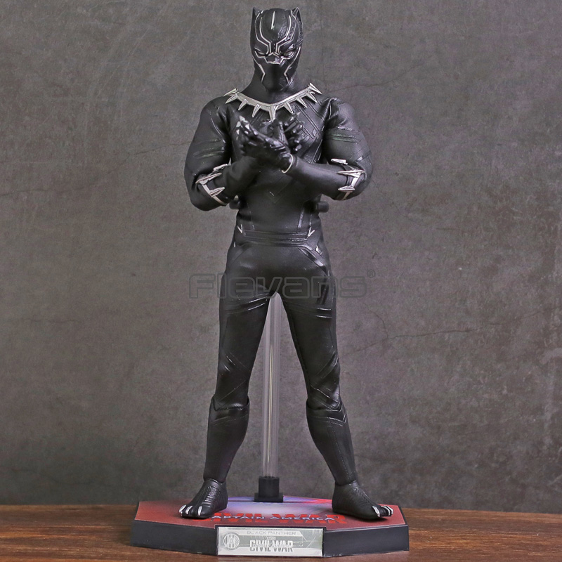 HC TOYS Avengers Infinity War Black Panther PVC Action Figure Collectible Model Toy marvel avengers chess captain america pvc action figure collectible model toy 15cm hrfg462