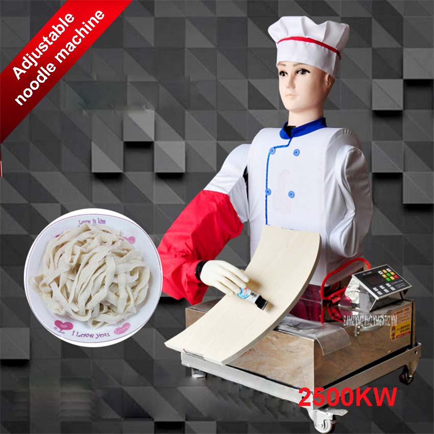 New speed control noodle machine sx-7 manufacturers custom new remote control automatic variable speed cutting face robot 220V