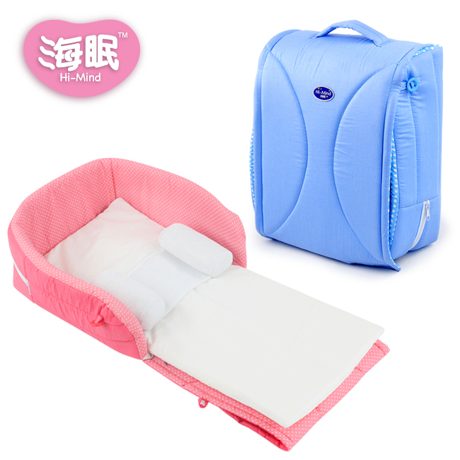 Portable baby bed crib cradle bed baby bed comfort station folding with small pillow цены онлайн