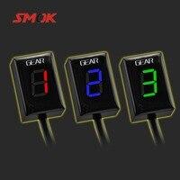 SMOK For Honda CB500X VFR 800 CB1000R CB400SF CBR650F CB650F Motorcycle 1 6 Level Ecu Plug Mount Speed Gear Display Indicator