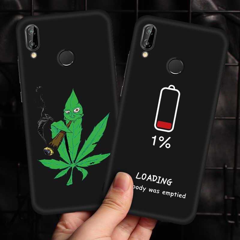 Para Huawei Honor 8X Max 8X10 9 Lite Note 10 fundas negras para Huawei Mate 20 p20 Pro Lite Y9 2019 Nova 3i 3 cubierta de TPU