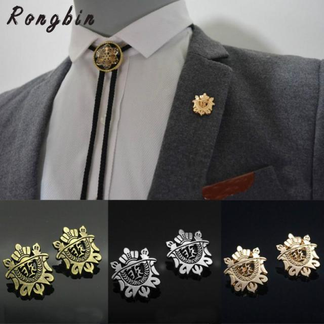 com party brooch item pins aliexpress lapel s in from gold on suit flower pin plated wedding brooches jewelry men long accessories classic rose for