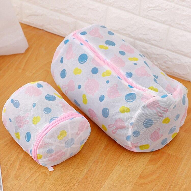 luluhut nylon mesh laundry bag protecting clothes bra lingerie bag folding laundry bags for washing machines laundry basket