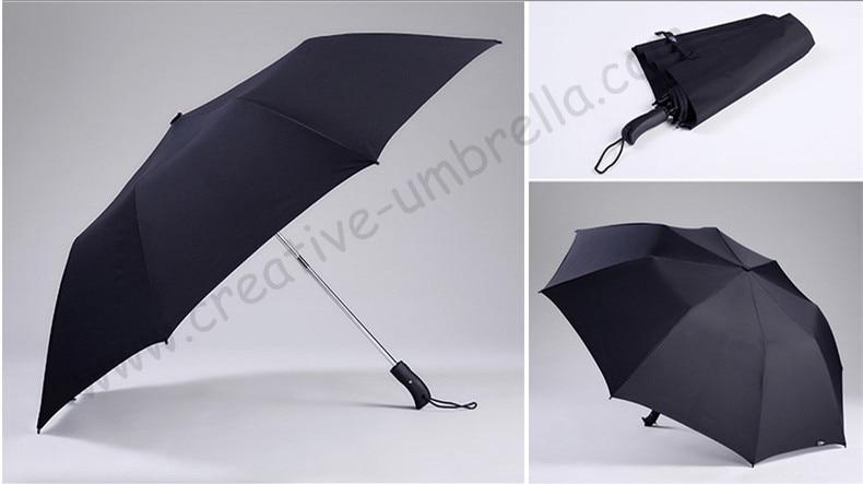 120см 3 человека два раза авто открытый шестигранный 50T сталь ветрозащитный против грома стекловолокно мини-гольф зонтики спортивный зонтик